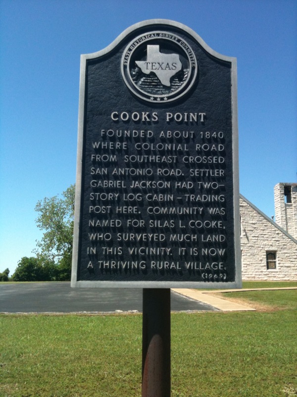 Cooks Point, Burleson County, Texas, birthplace of Dolly Oriole Willingham Keesee